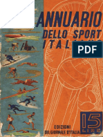 Annuario Dello Sport Italiano 1941