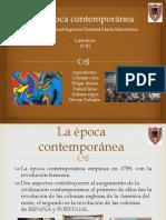 La Época Contemporánea (1)