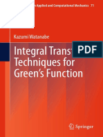 Integral Transform Techniques for Green s Function