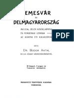 BODOR Antal, Temesvár és Délmagyarország