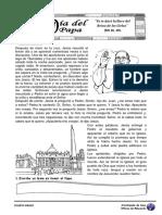 Papa Francisco Dc3ada Del Papa 4to Grado