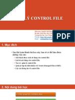 5-Quản Lý Control File