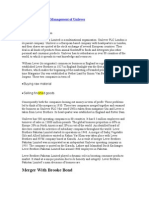 Report on Strategic Management of Unilever