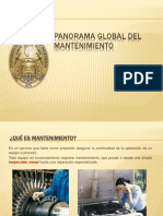 1.2.- Panorama Global Del Mantenimiento