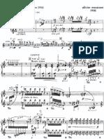 Pájaros exóticos de Messiaen