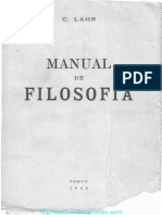 Manual de Filosofia Lahr
