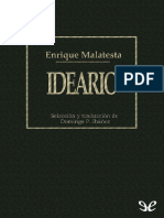 Malatesta, Errico. - Ideario [2013]