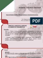 Sistema Tributario Nacional Prof Roberto e Luiz Gustavo DECAC