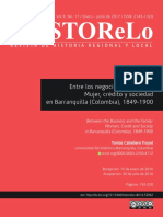 Entre Los Negocios y La Familia Mujer Crédito y Sociedad en Barranquilla (Colombia), 1849-1900