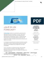 ¿Qué Es El Forecasting y Cómo Elaborar Un Forecast_ - Les Hoteliers