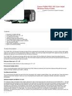 Canon PIXMA PRO-100 Color Professional ... Printer - 6228B002 13803149050   eBay