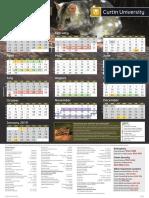 Curtin 2018 Academic Calendar