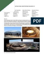 Concepcion Estructural Del Nuevo Estadio de Valencia