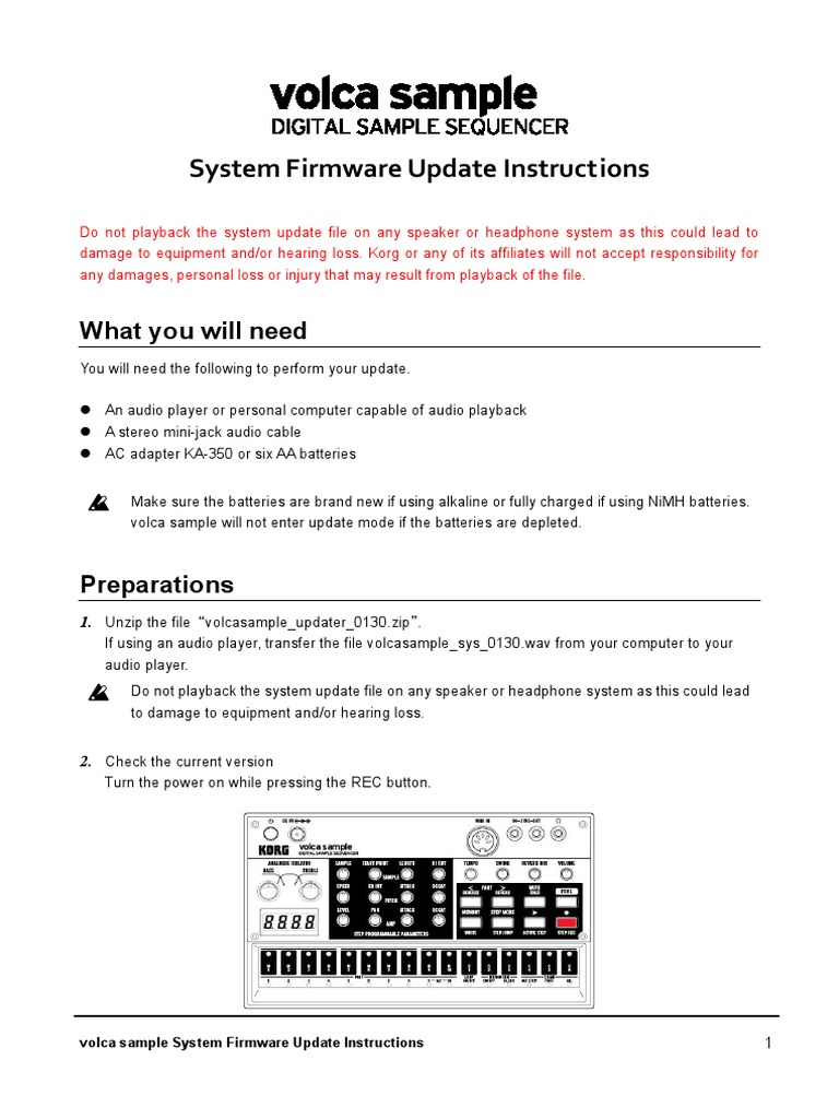 Volca Sample Firmware Update_EN_0130 | Media