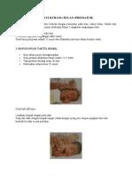 Pijat Bayi Pada Bayi Kurang Bulan