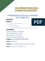PRINCIPIOS DE PLANEACIÓN DE UN CENT RO DE COMPUTO