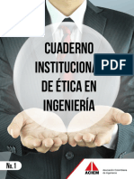 Cuaderno Institucional Etica Ingenieria