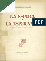 La espera y la esperanza - Pedro Lain.pdf