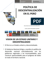 Descentralización en Ppt