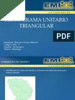 Hidrograma unitario Triangular