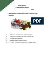 Guía de Trabajo La Cama Mágica de Bartolo