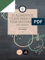 eBook 21 Alimentos Clave Para Una Vida Healthy Soycomocomo.es