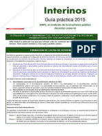 Guia Interinos Junio 2015 MADRID