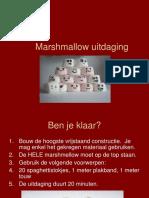 Marshmallow Uitdaging