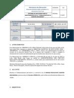 Modelo de Informe de Necesidad - Sector Publico