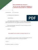 09 - Decreto Supremo Nº 029-94-Ef - Reglamento de La Ley Del Impuesto General a Las Ventas e Imp
