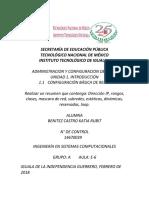 1.1 CONFIGURACIÓN BÁSICA DE REDES