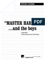 master harold studyguide