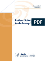 Ambulatory Safety Technical Brief