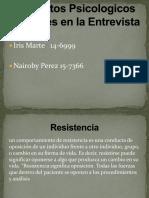 Diapositiva de Tecnica de La Entrevista
