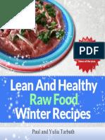 Lean Healthy Raw Food Winter Recipes