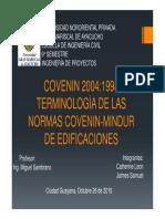 Covenin 2004