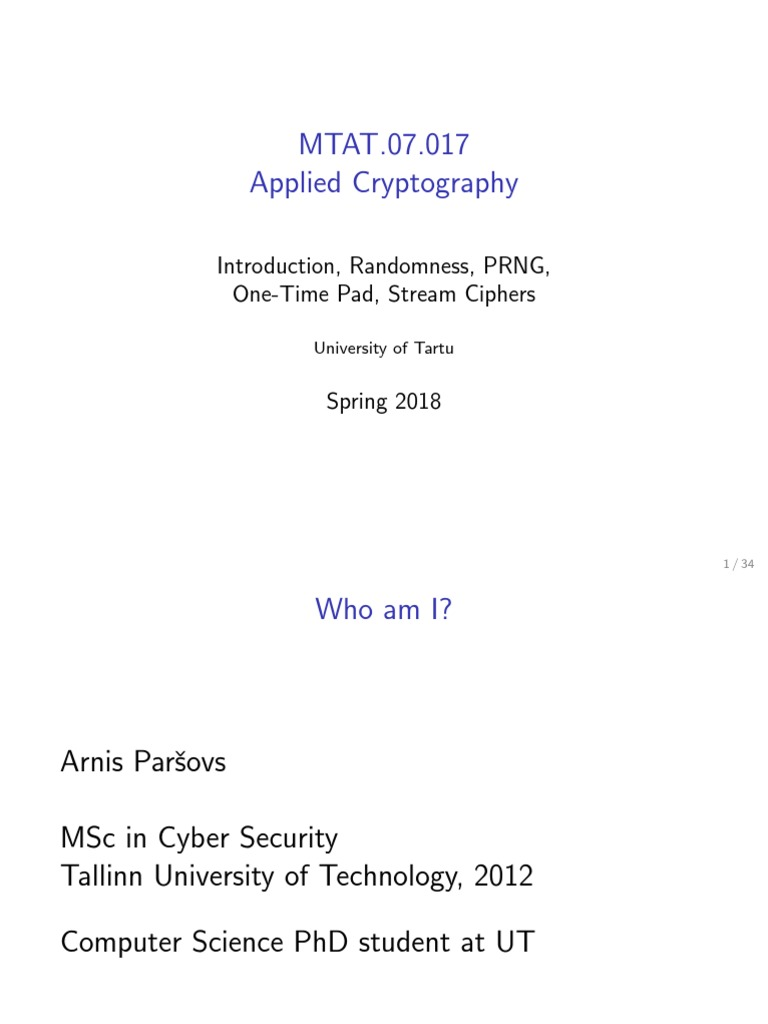 01   Cryptography   Key (Cryptography)