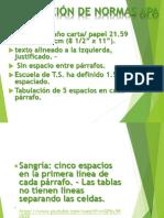 Clase Normas APA
