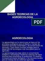 Bases Teóricas de La Agroecologia.
