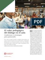Valor Pedagogic o Dialogo
