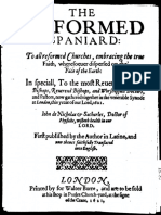 AMELANG Nicolas Reformed Spaniard 1621
