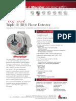 40 40i Triple IR 3 Flame Detector Data Sheet en Us 585144