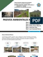 Pasivos Ambientales Mineros