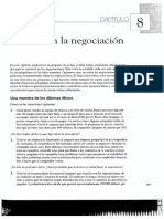 Lewicki, Barry y Saunders. Cap 8. La ética en la negociación.pdf