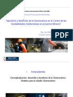 Aplicación y Desarrollo de La Geomecánica en Obras Subterráneas ROCK INFO.noviembre 2012.
