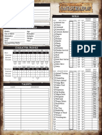 WFRP 2nd Edition Fillable