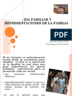 Vida Familiar y Representaciones de La Familia