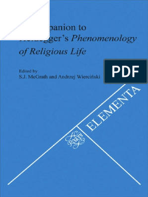 Companion to Heideggers Phenomenology of Religio | Martin