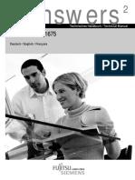 Fujitsu Siemens Motherboard D1675