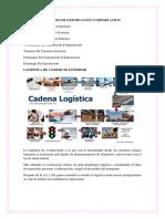Porceso de Exportación e Importacion